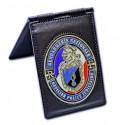 Porte carte Gendarmerie Patrouilleurs