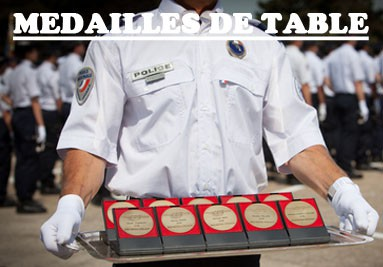 Médailles de Table